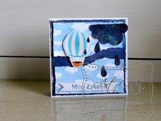 Art-Carta : Balon w chmurach