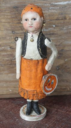 Trick or Treat Doll - DEBBEE THIBAULT
