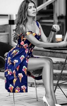 Pop Art Photography Models Color Splash 56 Ideas For 2019 Black White Photos, Black And White Colour, Cute Fashion, Fashion Models, Fashion Women, Modelos Pin Up, Color Splash Photo, Splash Photography, Art Photography