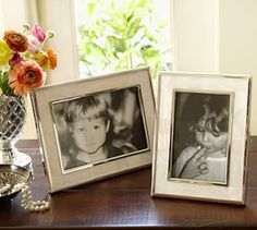 Mother-of-Pearl Frames #Pottery Barn