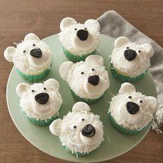 North Pole-R Bear Cupcakes