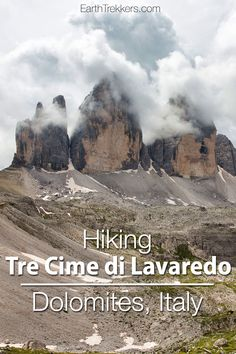 Tre Cime de Lavaredo: hiking in the Dolomites, Italy