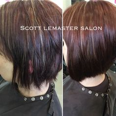 Amazing what one box of Vomor Hair can do! This transformation was created by our stylist Claire, at Scott Lemaster Salon and Spa.