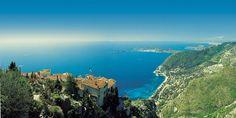 Eze, un balcon sur la méditerranée