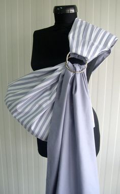 Can't wait to carry my sweet Baby O in this. Baby Sling Ring/Baby Carrier/Reversible Baby ring Sling/Baby Wrap/White,Gray on Etsy, $29.90