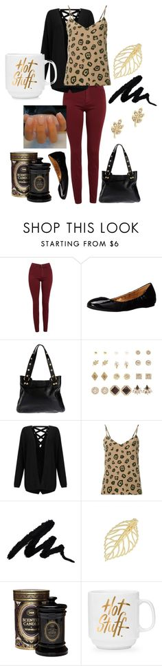 """""""Untitled #221"""" by skylovessave ❤ liked on Polyvore featuring AG Adriano Goldschmied, Nine West, Hammitt, Charlotte Russe, Miss Selfridge and L'Agence"""