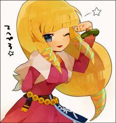 Cute Chibi Skyward Sword Zelda