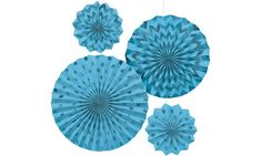 Caribbean Blue Decorations - Caribbean Blue Paper Decorations, Custom Banners & Mmore - Party City