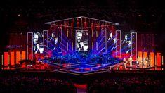 stage design superbowl - Google Search