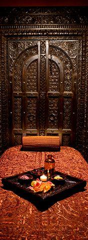 Cabina de Massatge Ayurveda.