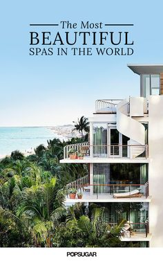 """It's time for you to book some """"me"""" time. There's no better feeling than traveling the world and getting the best spa treatment on your vacation. After all, you deserved to be pampered by only the best. So, we've rounded up the most beautiful spas in the world that will make your next destination unforgettable."""