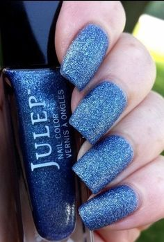 *NEW* Julep TRACY Nail Polish *SPARKLY OCEAN BLUE SEA SALT FINISH!!!* *SOLD OUT* #Julep
