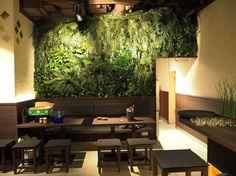 Grüne Wand und Pflanzenwand KAIMUG 5 Höfe Bild 2 Evergreen wall from moss and plants by www.stylegreen.de #greenliving #greendesign #interiordesign