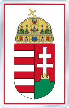 Internet Store of Worldwide Souvenirs - Acrylic Fridge Magnet: Hungary - Coat of Arms of Hungary Funny Buttons, Homemade 3d Printer, Christmas Gifts, Christmas Ornaments, Photo Magnets, Collage Sheet, Coat Of Arms, Hungary, Party Themes