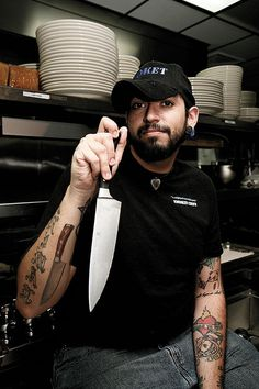 Alex Sauerteig; sous chef at Smoket BBQ.