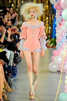 Meadham Kirchhoff at London Fashion Week Spring 2012