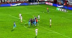 Trabzonspor-Gaziantepspor kural hatası