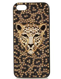 Carcasa barroca con tigre de Topshop (25 euros). ¡No perderás tu móvil de vista!