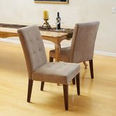 Found it at Wayfair - Talib Tufted Leather Dining Chair