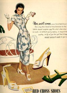vintage designer pinup 1948