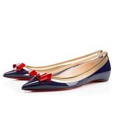 Christian Louboutin Tricolor Suspenodo Flats — UFO No Oxfords, Louboutin Online, Christian Louboutin Shoes, Beautiful Shoes, Gorgeous Heels, Womens Shoes Wedges, Shoe Collection, Me Too Shoes, Shoe Boots