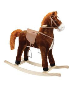 This Hercules Horse Rocker is perfect! #zulilyfinds
