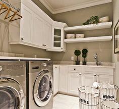 25 lavanderias lindas e super organizadas