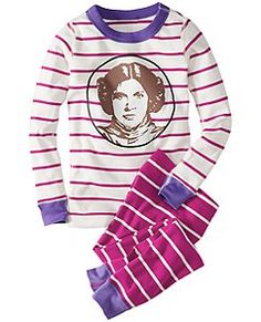 Star Wars™ Princess Leia Long John Pajamas In Organic Cotton
