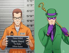 The Joker // extraordinarycomics: Batman Villains Arkham Asylum, Nightwing, Marvel Universe, Dc Comics, Gotham Villains, Marvel And Dc Superheroes, Deadshot, Riddler, Detective Comics