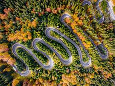 Transylvania (region in central Romania) have many beautiful highways, roads, especially Transfagarasan which is one of the most spectacular routes in Romania. Romanian photographer Colin documents these roads in four season form above using drone.
