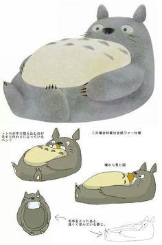 Totoro bed?!?! Omg I wants it!!!!