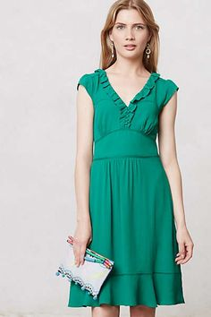 Anthropologie - Ruffled Della Dress