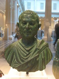 CE) Bronze Portrait Bust of a Man Ancient Rome, Romans, Bronze, Sculpture, Statue, Photo And Video, Portrait, Friends, Amigos