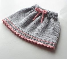 Baby skirt knitted baby skirt merino wool skirt gray and pink skirt MADE TO ORDE . Baby skirt knitted baby skirt merino wool skirt gray and pink skirt MADE TO ORDER - Knitting For Kids, Baby Knitting Patterns, Hand Knitting, Knitted Hats Kids, Knitting Wool, Baby Patterns, Dress Patterns, Baby Girl Skirts, Baby Skirt