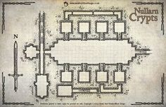 Map Monday: Nullarn Crypts – OSR Today