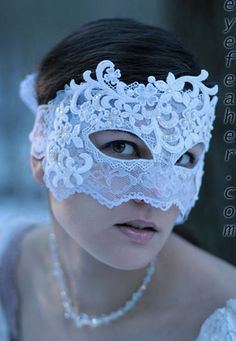 Lace Face by eyefeather, via Flickr