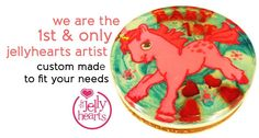We are the first Jellyhearts artist in SG. Jelly Hearts, We Are The Ones, Artist, Artists, Amen