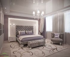 Ideas French Furniture Bedroom For 2019 Master Bedroom Set, Master Bedroom Interior, Home Decor Bedroom, Mirrored Bedroom, Luxury Bedroom Design, Master Bedroom Design, Bedroom Layouts, Suites, Minimalist Bedroom