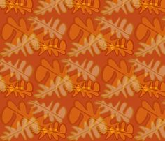 Nga Rau fabric by reen_walker on Spoonflower - custom fabric