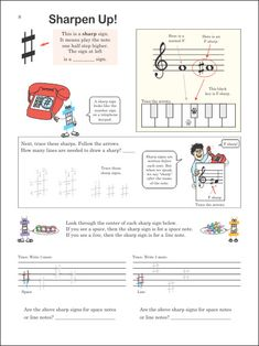 Look Inside Doctor Mozart Music Theory Workbooks, Level 1 Music Lessons For Kids, Music Lesson Plans, Singing Lessons, Piano Lessons, Teaching Orchestra, Piano Teaching, Violin Sheet Music, Piano Music, Music Education