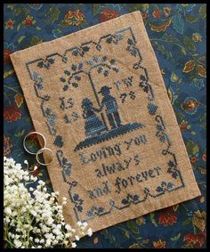 Always and Forever - Little House Needleworks