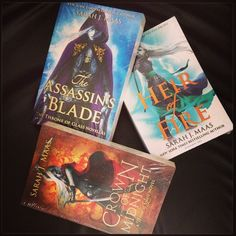 Sarah J Maas' Throne of Glass series!