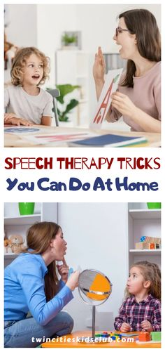 Twin Cities Kids Club Blogs:  Speech Therapy Tricks You Can Do At Home - Speech therapy at home would be great if you could get your kid to sit down with you and work on it! Children with speech and language problems typically don't want to sit down and work on it because it's so difficult for them. #parenting #coparenting #parentingtips #parentinghacks #parenting101 #parentinghumor #speechtherapy Step Parenting, Parenting Humor, Parenting Hacks, Play Based Learning, Hands On Learning, Coparenting, Educational Crafts, Top Blogs, Twin Cities