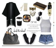 """Untitled #241"" by bloploop ❤ liked on Polyvore featuring Sinclair, Glamorous, Topanga, Moleskine and The Cellar"
