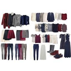 Capsule Wardrobe II by candichi on Polyvore featuring AX Paris, Madewell, Phase Eight, Monki, River Island, Rails, Quiksilver, Elizabeth and James, VILA and Majestic Filatures