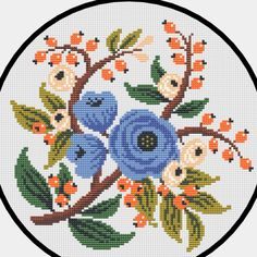 Toilet Roll Art, Bracelet Crafts, Cross Stitch Flowers, Needlework, Cushions, Kids Rugs, Diy Crafts, Embroidery, Cross Stitch Embroidery