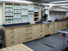Sean's Well-Equipped Workshop | The Wood Whisperer. Festool