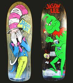 Jason Lee Skateboard Decks