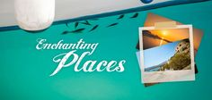 Enchanting Places  Project Banner Places Ive Been, Banner, Projects, Home Decor, Banner Stands, Log Projects, Blue Prints, Decoration Home, Room Decor