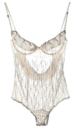 La Bohemienne Champagne Underwear Bodysuit